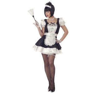 Fiona french Maid Woman Adult Halloween costume